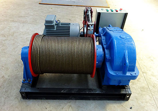 High Speed Electric Winch 1 Ton