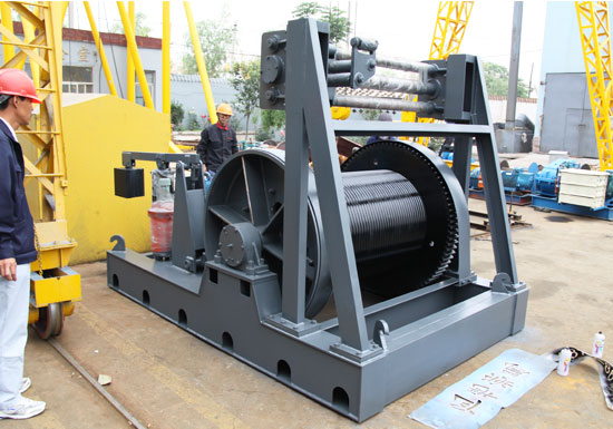 100 Ton Winch Machine