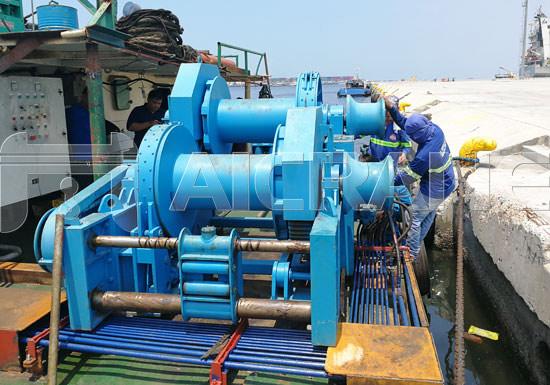 12 Ton Hydraulic Winch