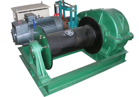 15 Ton Mine Winch