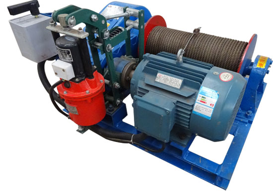 20 Ton Drum Winch