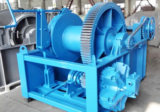 30 Ton Hydraulic Winch for Marine