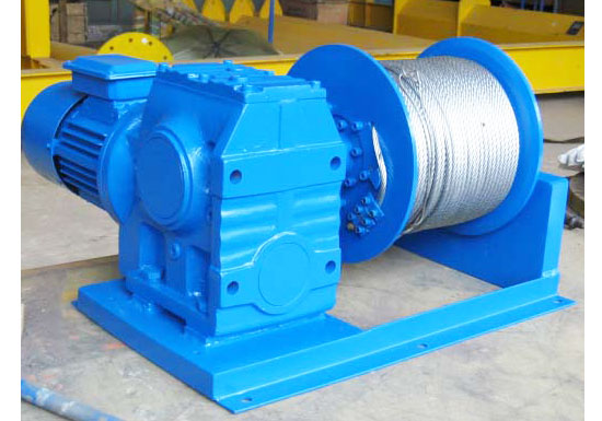 5t Cable Drum Winch