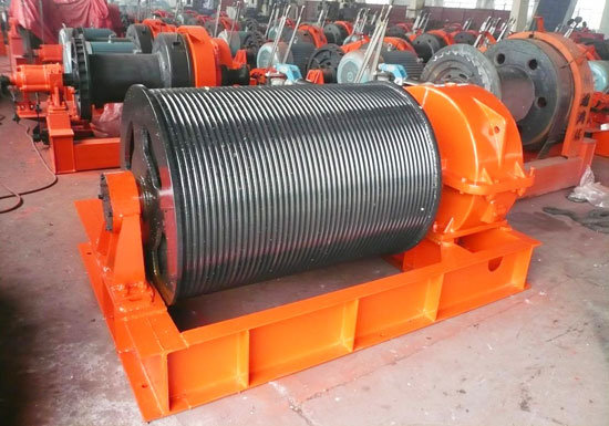 50t Electric Drum Winch