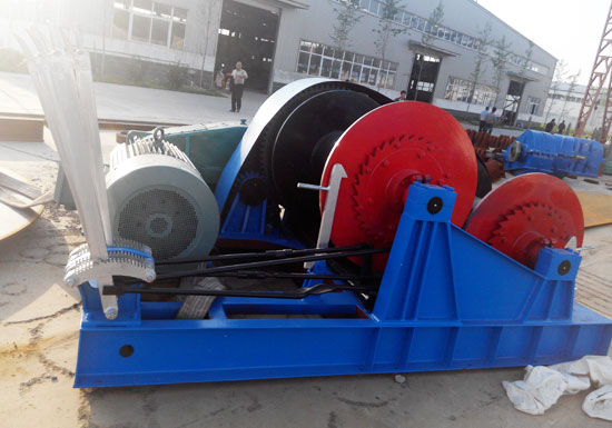 AQ-JKL Electric Piling Winch in Construction