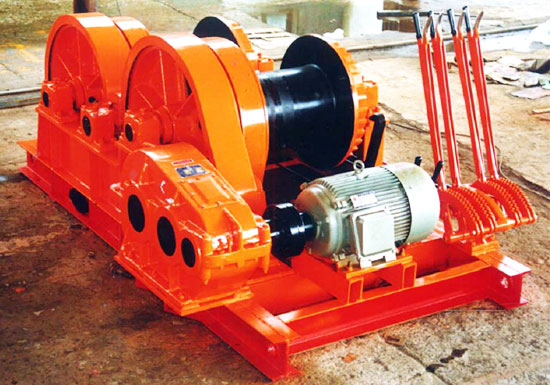High Speed Electric Piling Winch
