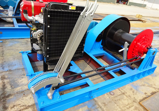 Diesel Winch for Sale