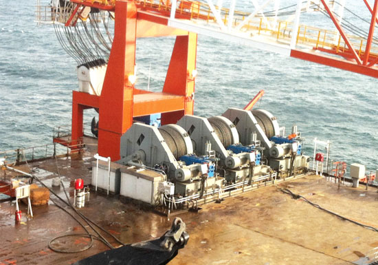 Single Drum Electric Marine Winch