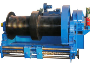 Dual Drum Winch for Marine