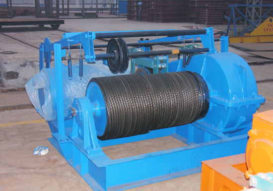 AQ-JM Electric Cable Winch for sale