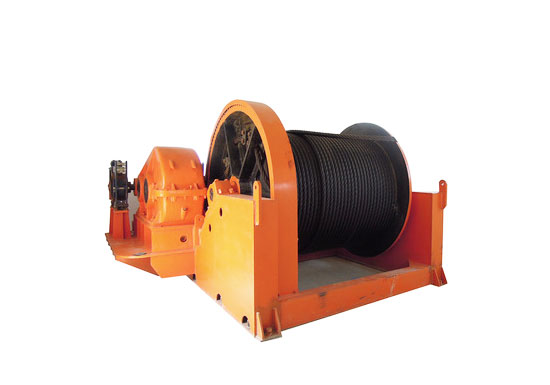 Custom Mine Winch