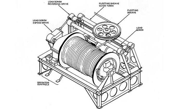 Electric Winch Structure