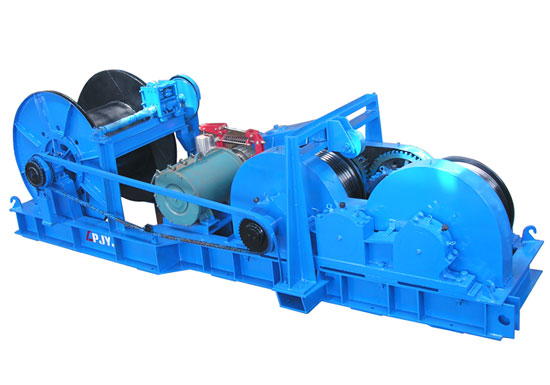 20t Friction Winch