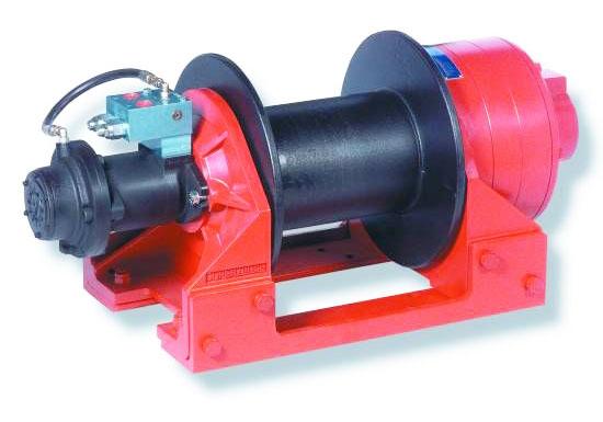 8 Ton Hydraulic Winch