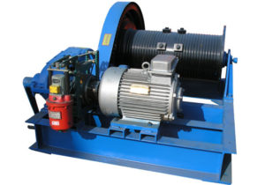 Heavy Duty Industrial Winch