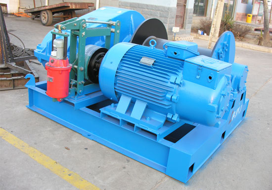 Single Drum Winch With High Speed