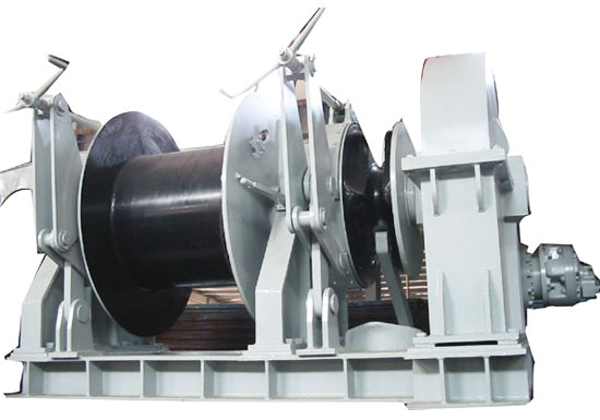 Hydraulic Deck Winch