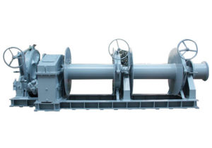 Hydraulic Double Drum Winch