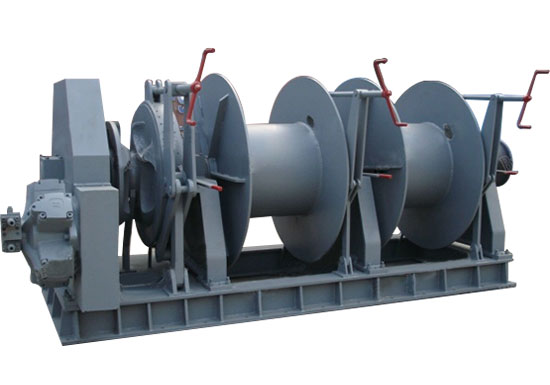 Hydraulic Marine Winch