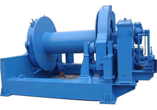 Hydraulic Mooring Winch