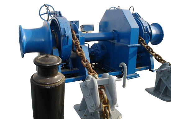 Double Gypsy Hydraulic Power Winch