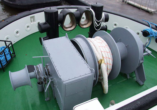 Deck Anchor Mooring Winch