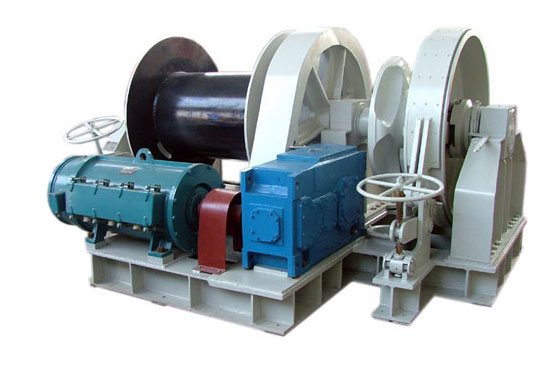 Single Drum Marine Winch