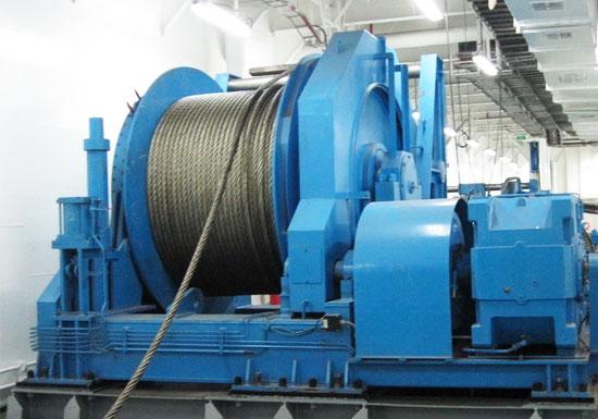 Marine Hydraulic Mooring Winch