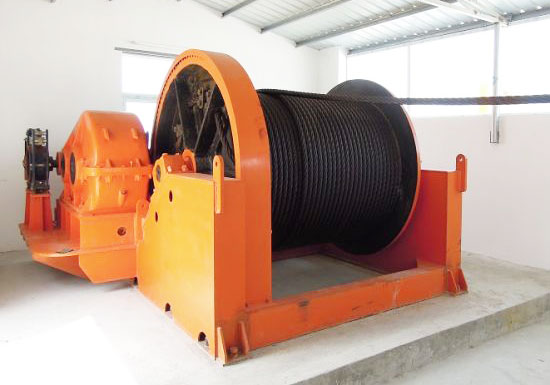 Electric Mine Winch