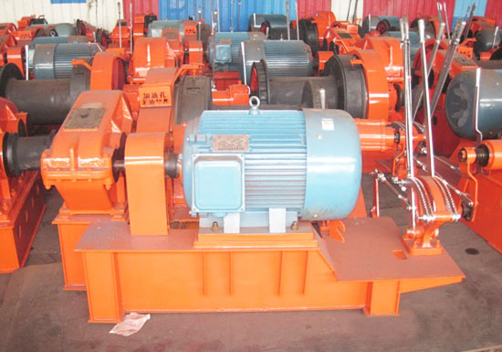 JKL Electric Piling Winch