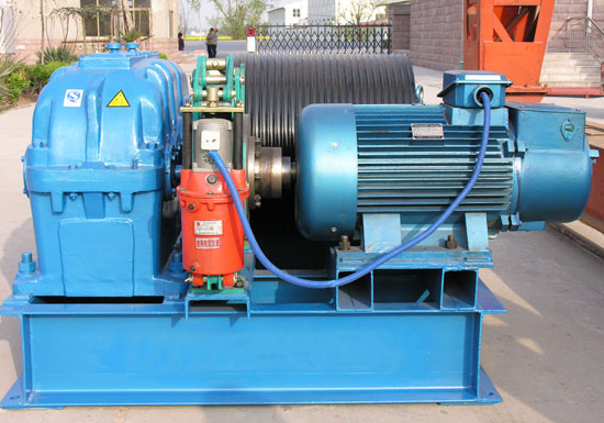 JM Slow Speed Pulling Winch