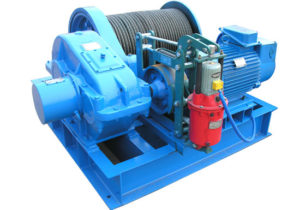 Electric Winch for Cable Pulling