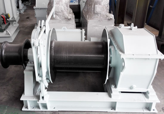 Single Drum Mooring Winch