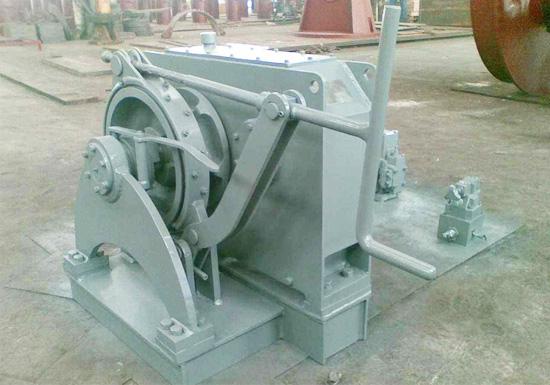Single Gypsy Hydraulic Winch