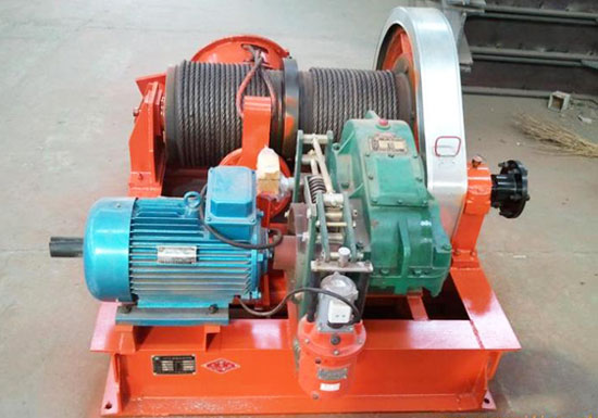 Electric Winch With Long Cable