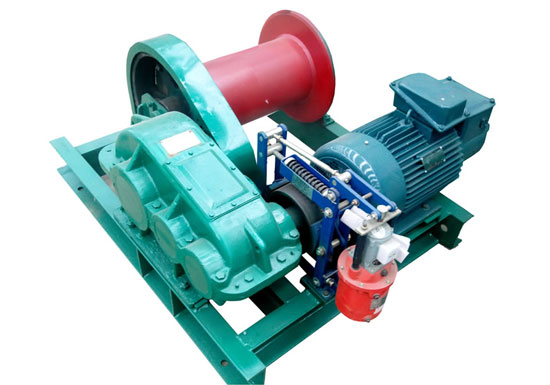 1 Ton Slow Speed Electric Winch