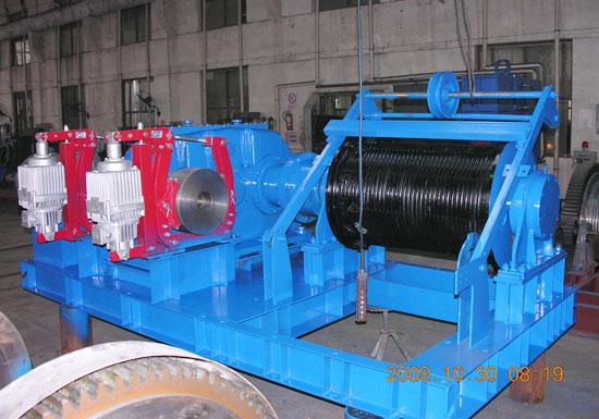 AQ-JM Series Electric Winch 15 Ton