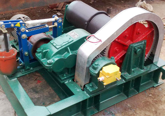 AQ-JM Series Light Duty Winch