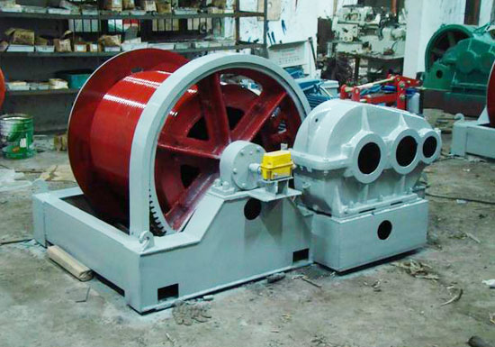 10 Ton Slow Speed Winch