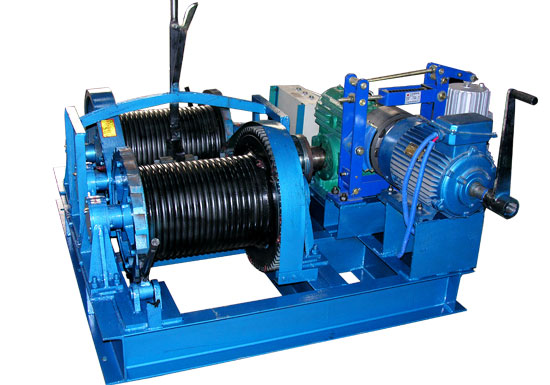 Double Drum Marine Winch