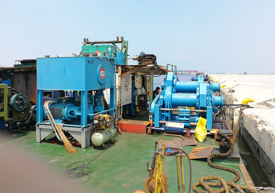 12 Ton Winch With Hydraulic Pump Station