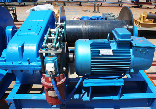 AQ-JK High Speed Electric Winch