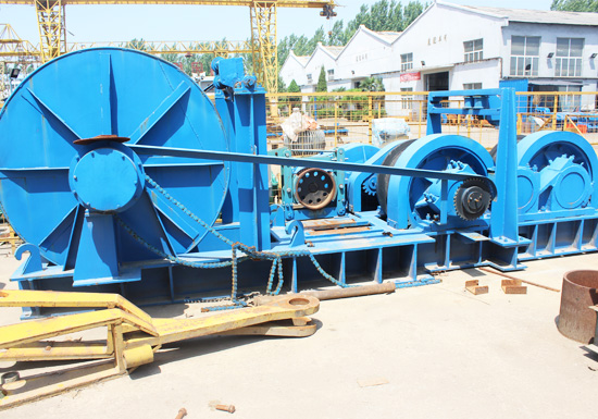 JMM Electric Friction Winch