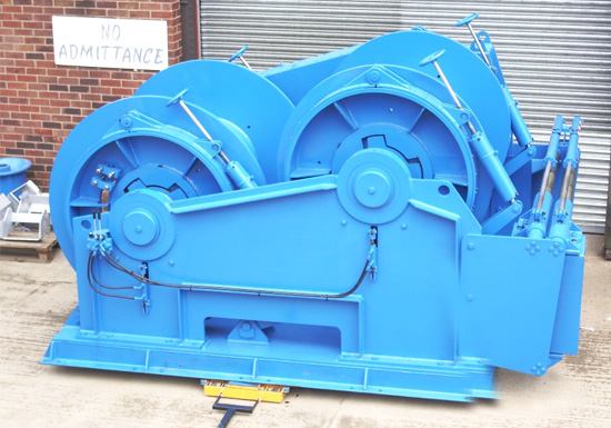 Hydraulic Double Drum Towing Winch