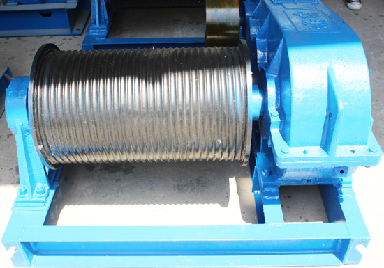 Grooved Drum Winch
