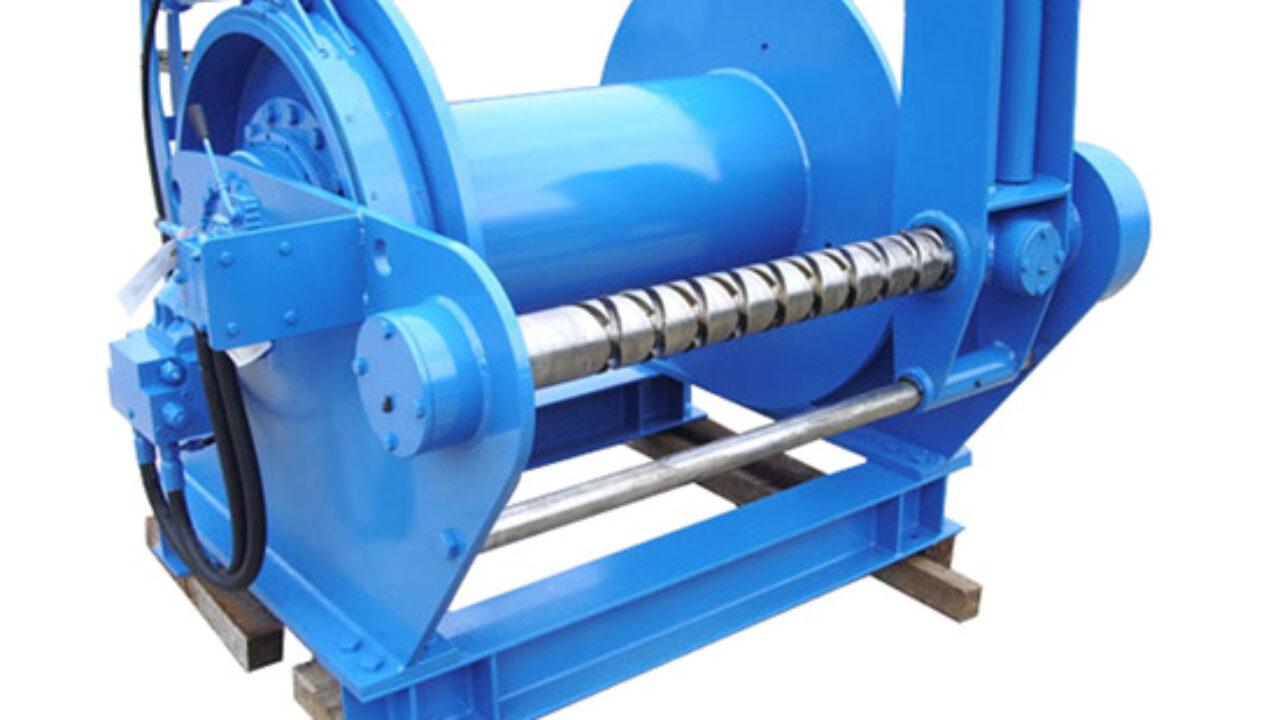 Heavy Duty Hydraulic Winch - Durable Winches for Construction, Marine