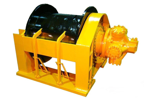 Single Drum Hydraulic Winch