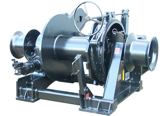 Hydraulic Mooring Winch With Warping Head