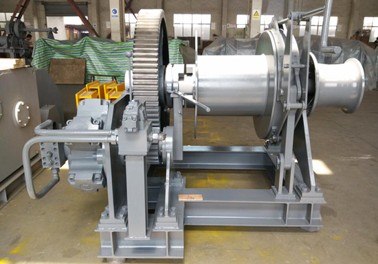 Hydraulic Single Drum Mooring Winch