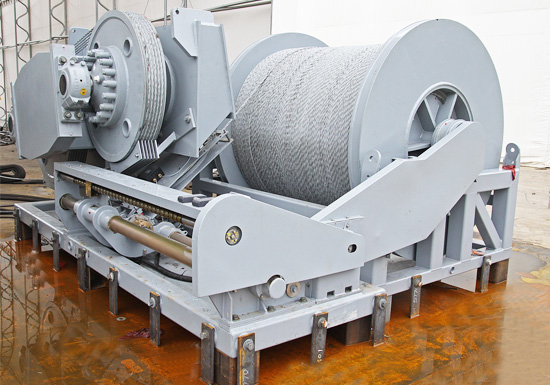Large Towing Winch